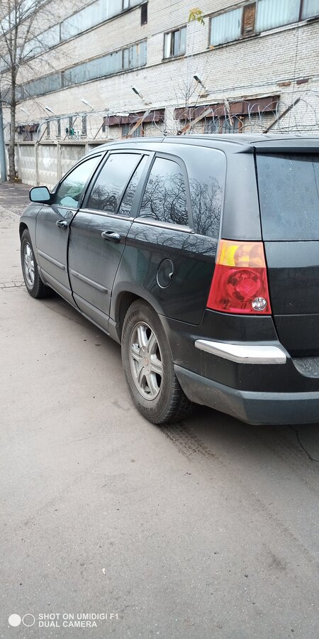 2003 Chrysler Pacifica  CS, чёрный - вид 2
