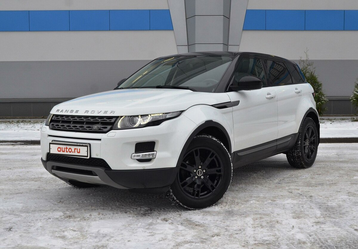 2015 Land Rover Range Rover Evoque  I 9-speed, белый - вид 1
