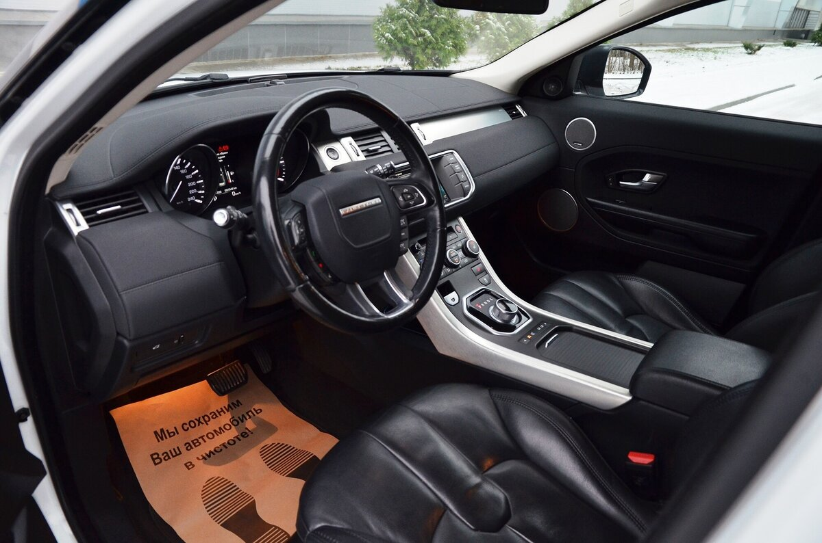 2015 Land Rover Range Rover Evoque  I 9-speed, белый - вид 11
