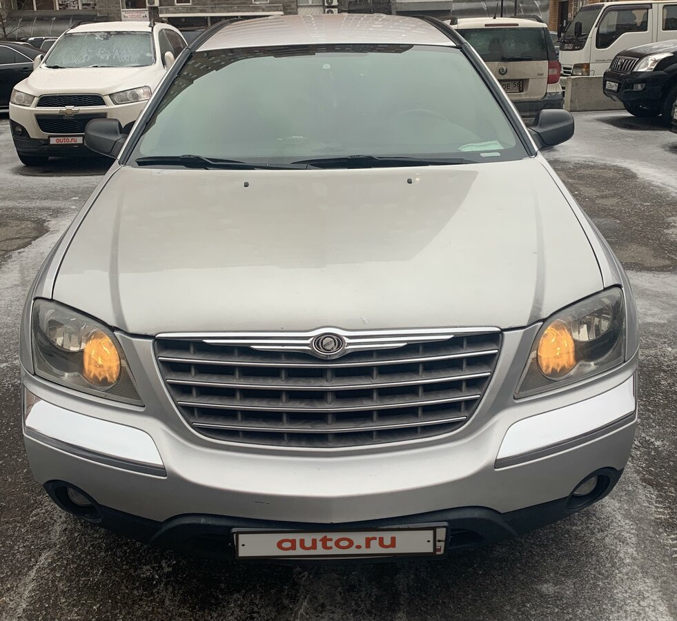 2004 Chrysler Pacifica  CS, серебристый