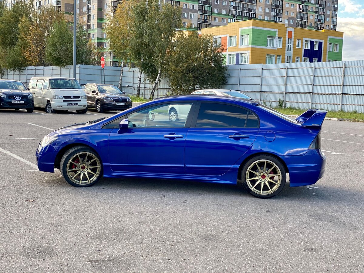 2006 Honda Civic  VIII, синий - вид 4