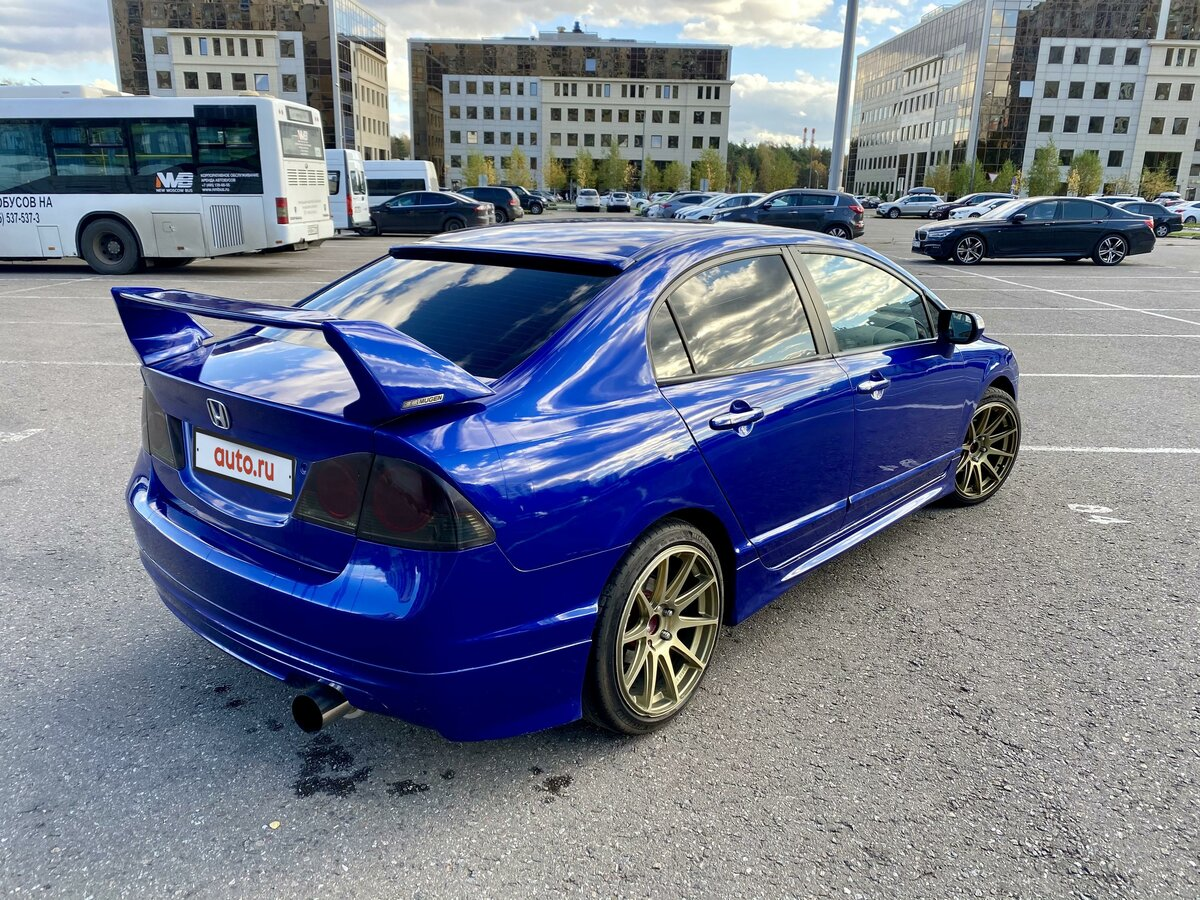 2006 Honda Civic  VIII, синий