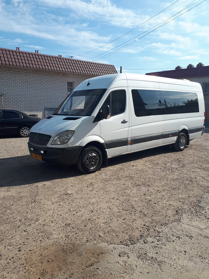 2008 Mercedes-Benz Sprinter, белый