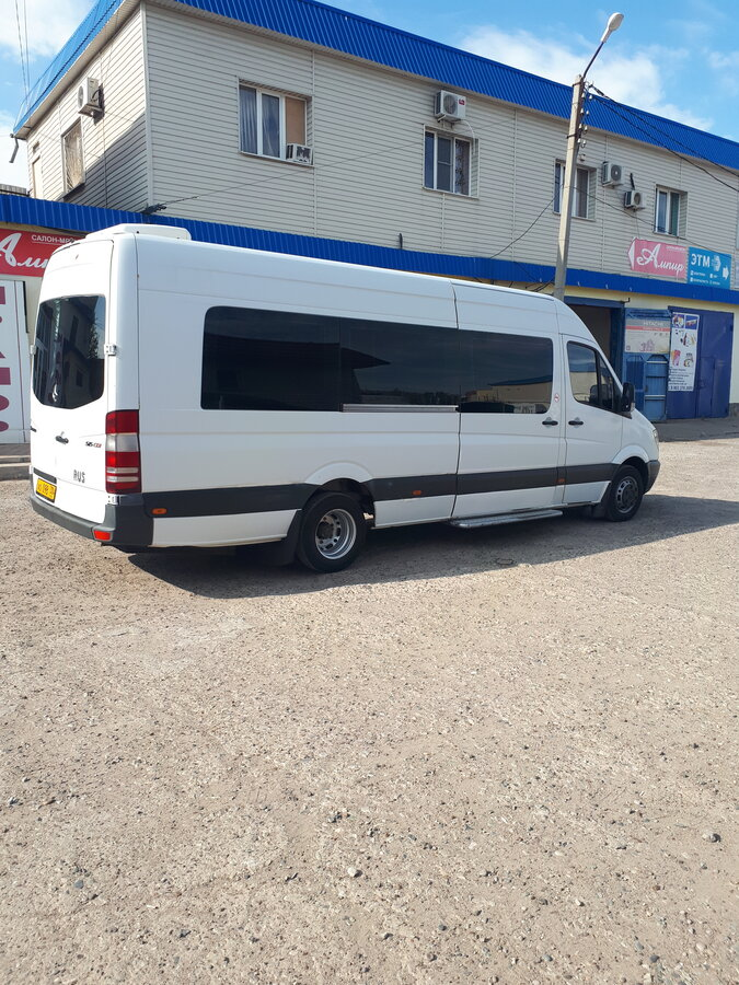 2008 Mercedes-Benz Sprinter, белый - вид 1