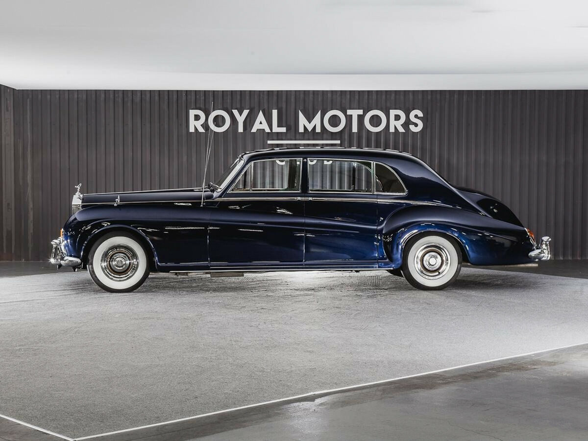 1965 Rolls-Royce Phantom  V, синий - вид 1