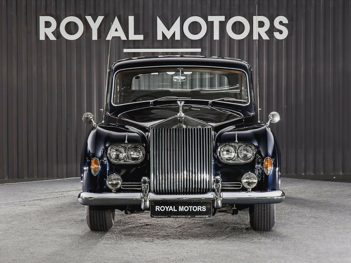 1965 Rolls-Royce Phantom  V, синий - вид 2