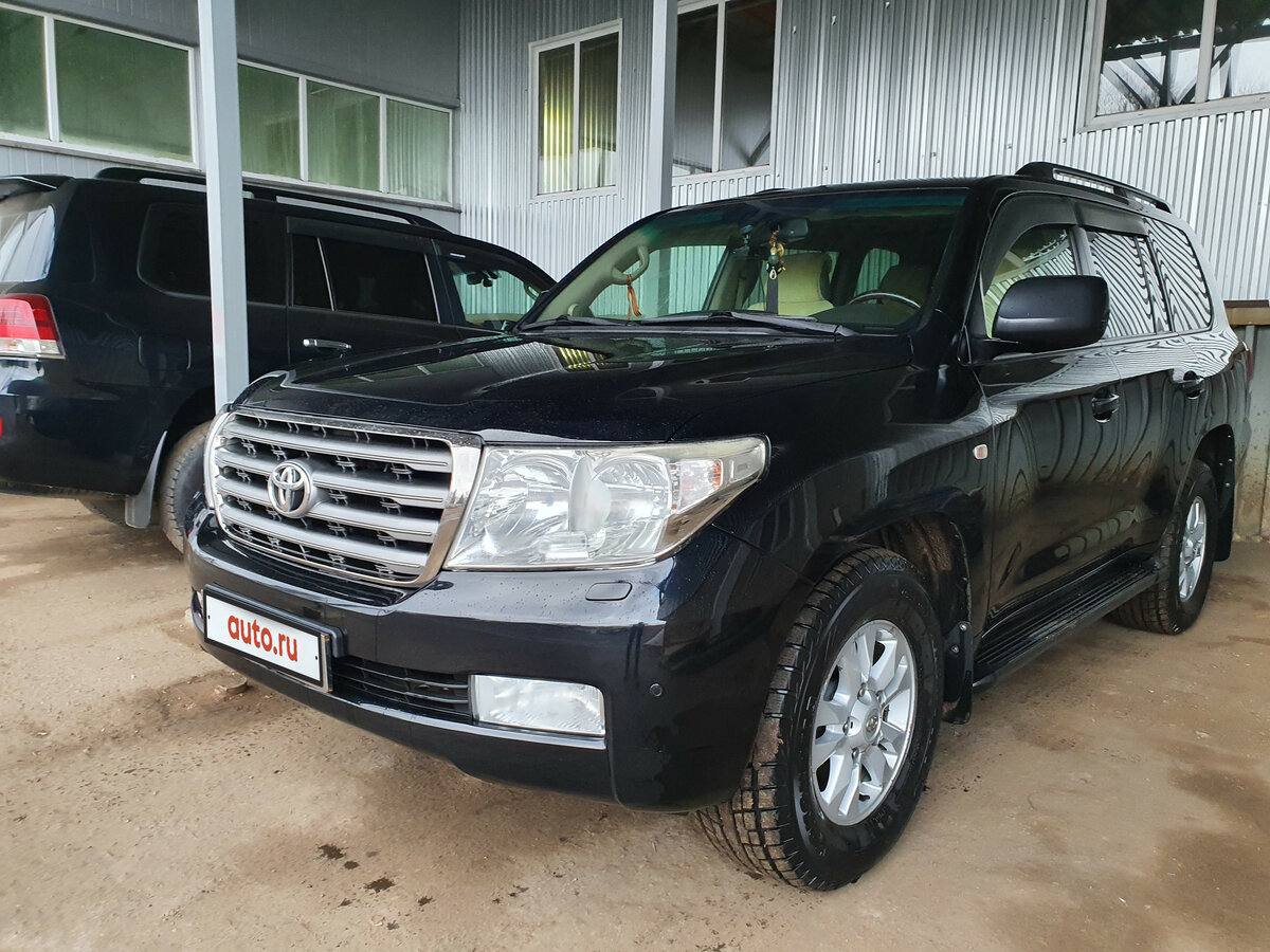 2008 Toyota Land Cruiser 200 Series, чёрный, 1950000 рублей