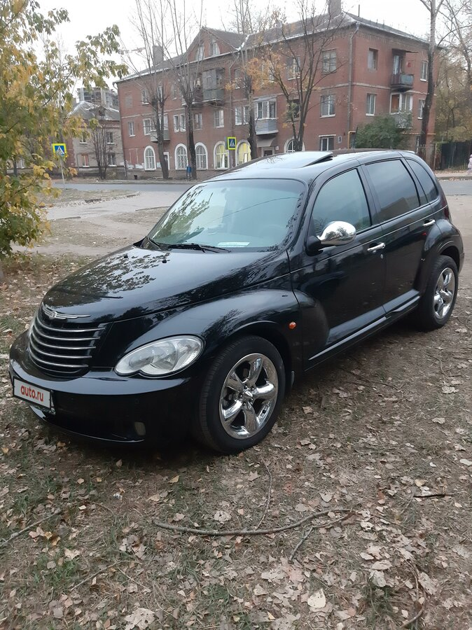 2006 Chrysler PT Cruiser , чёрный