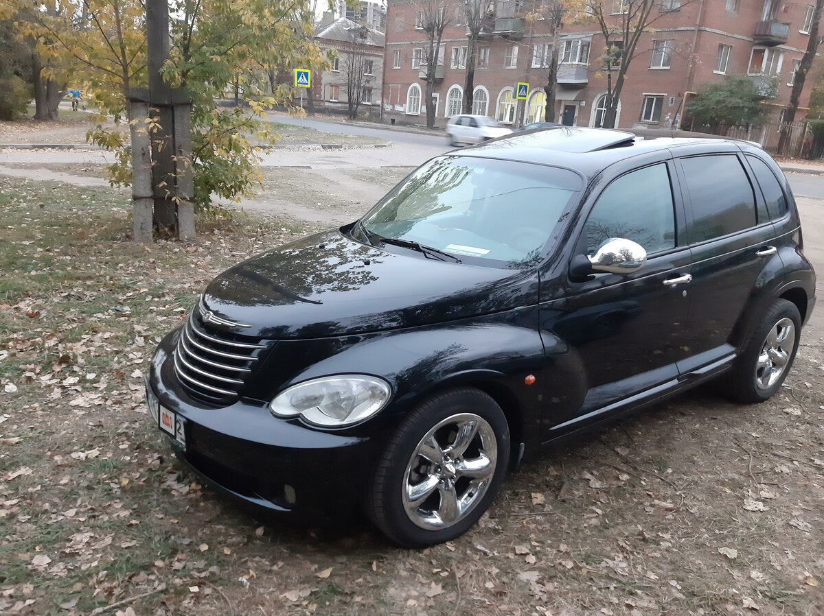 2006 Chrysler PT Cruiser , чёрный - вид 10