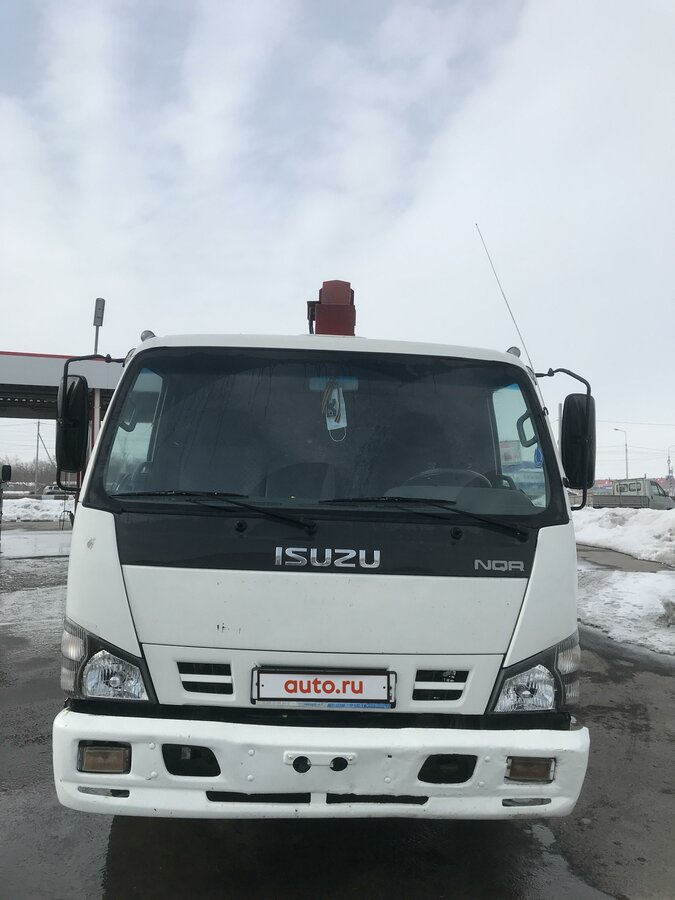 2008 Isuzu Elf (N-series), белый - вид 8