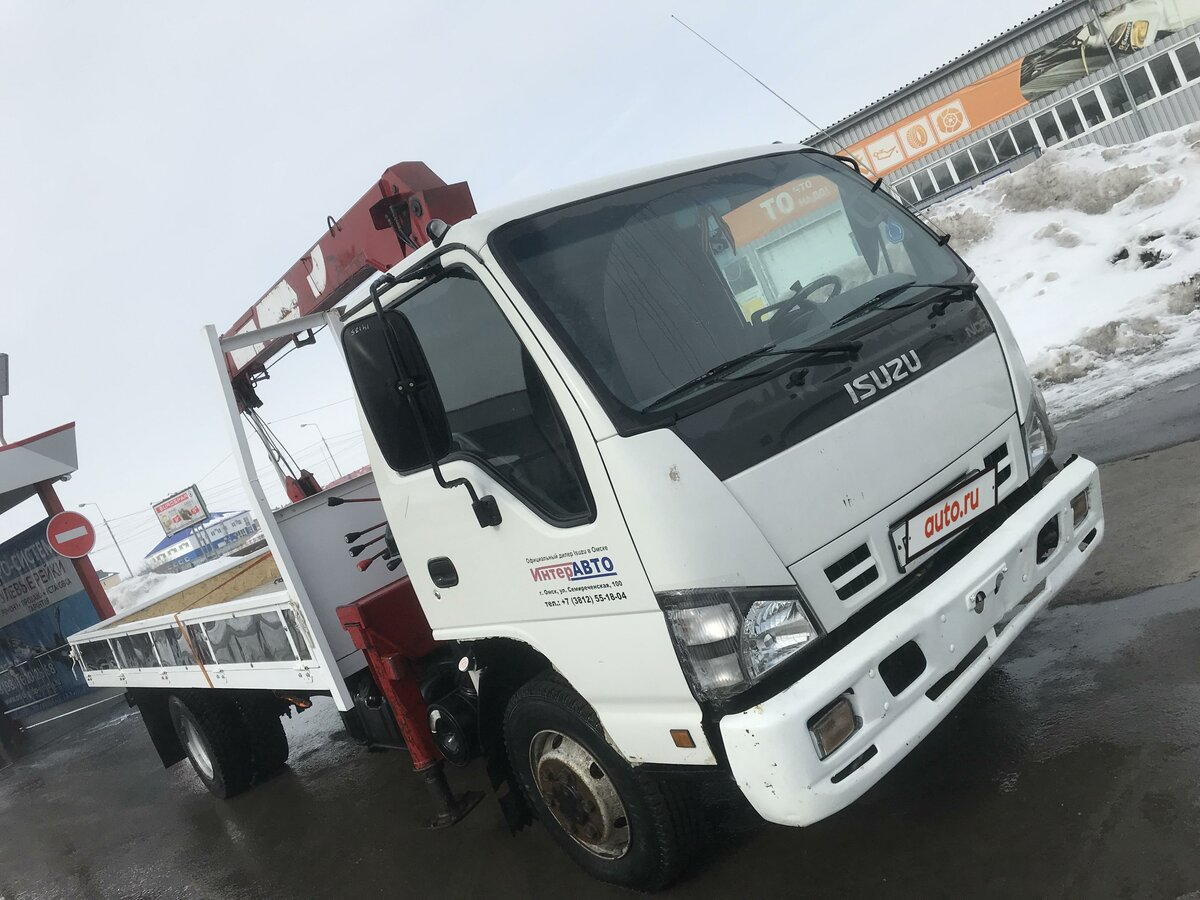 2008 Isuzu Elf (N-series), белый - вид 1