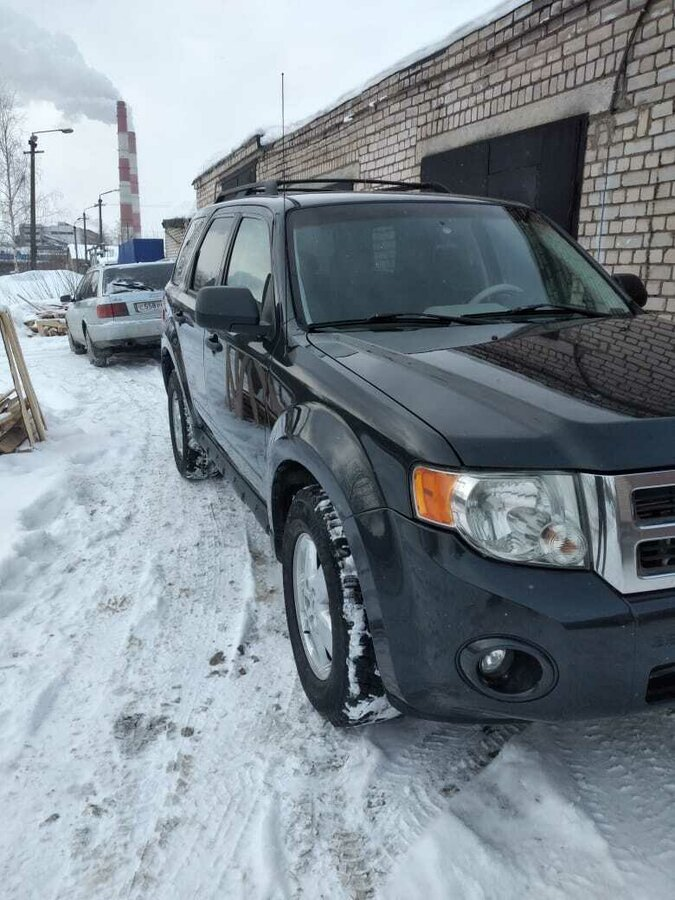 2008 Ford Escape  II, серый