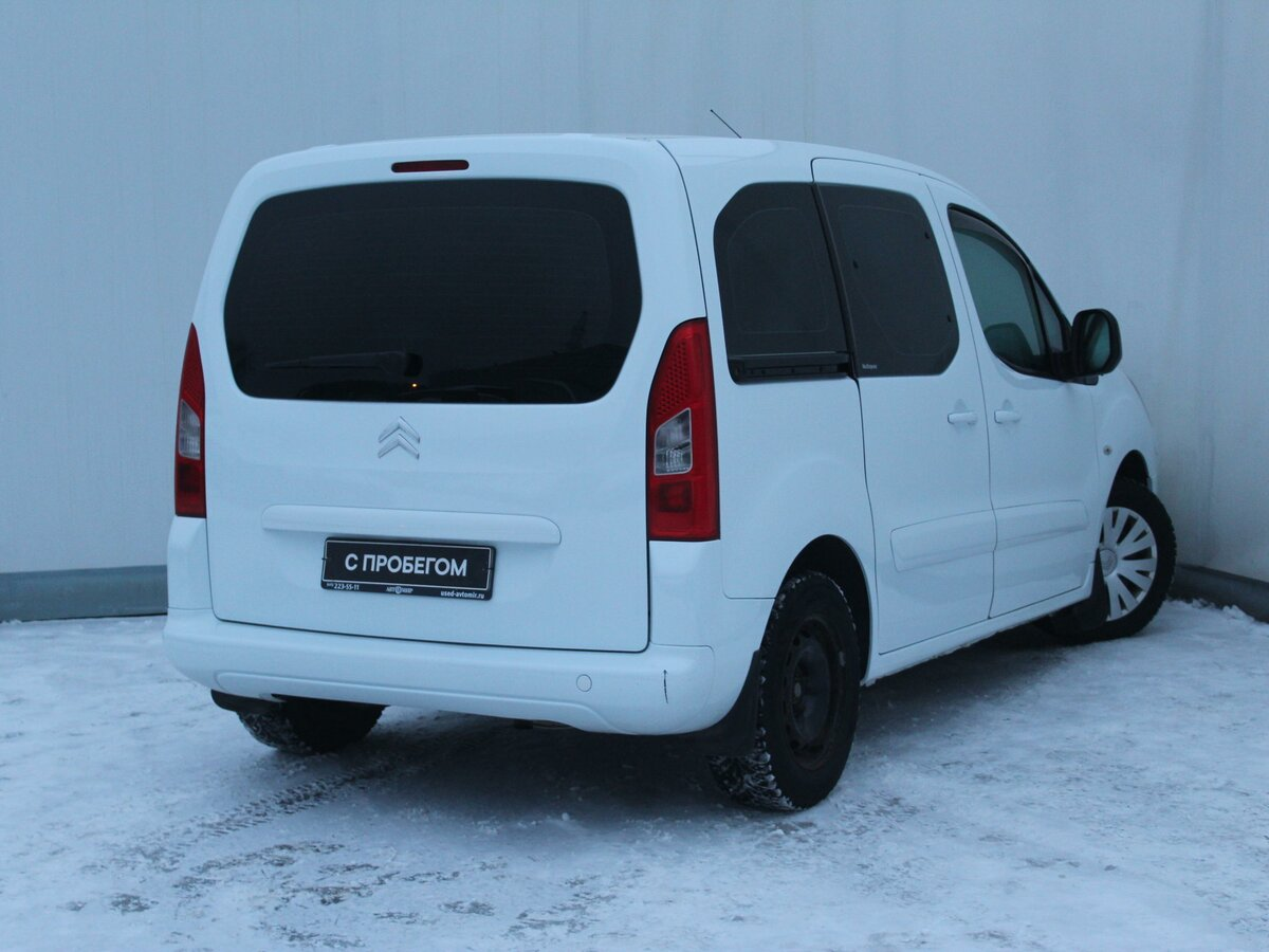 2011 Citroen Berlingo  II, белый - вид 3