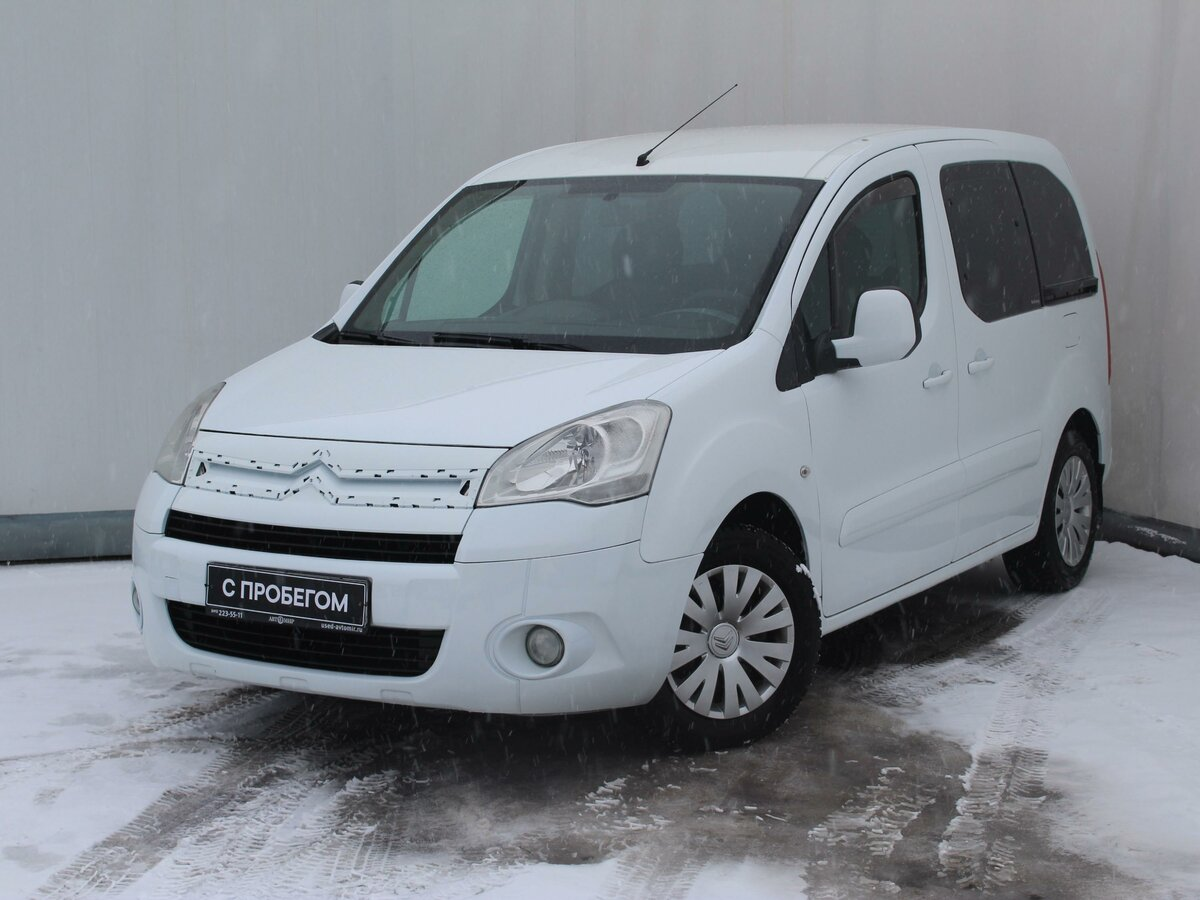 2011 Citroen Berlingo  II, белый