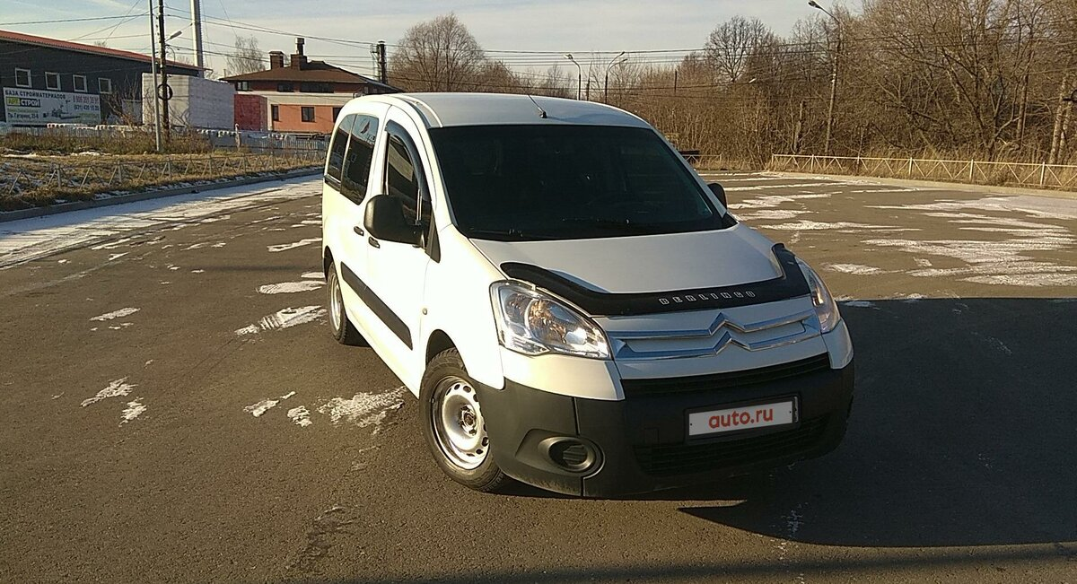 2010 Citroen Berlingo  II, белый