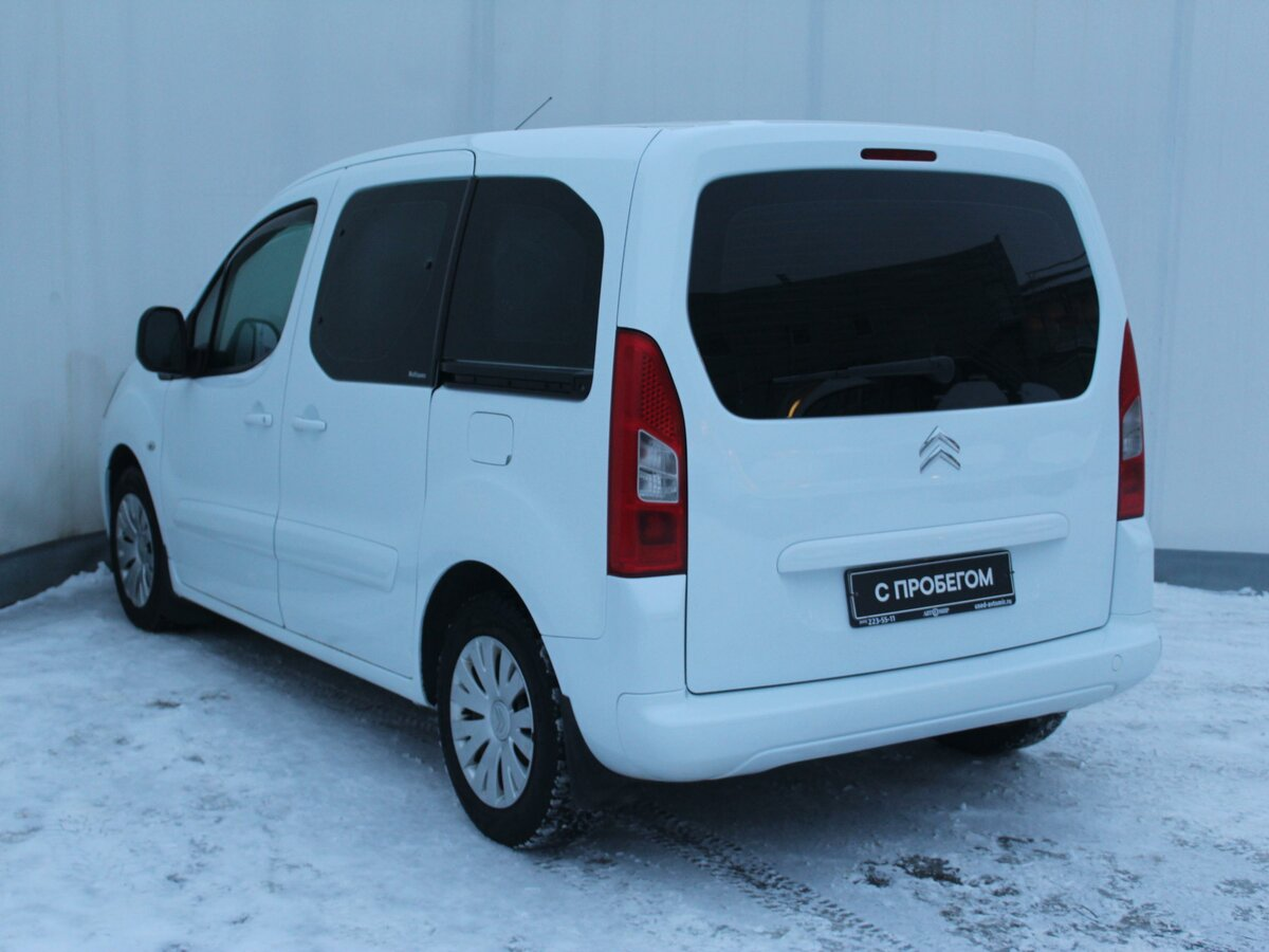 2011 Citroen Berlingo  II, белый - вид 5