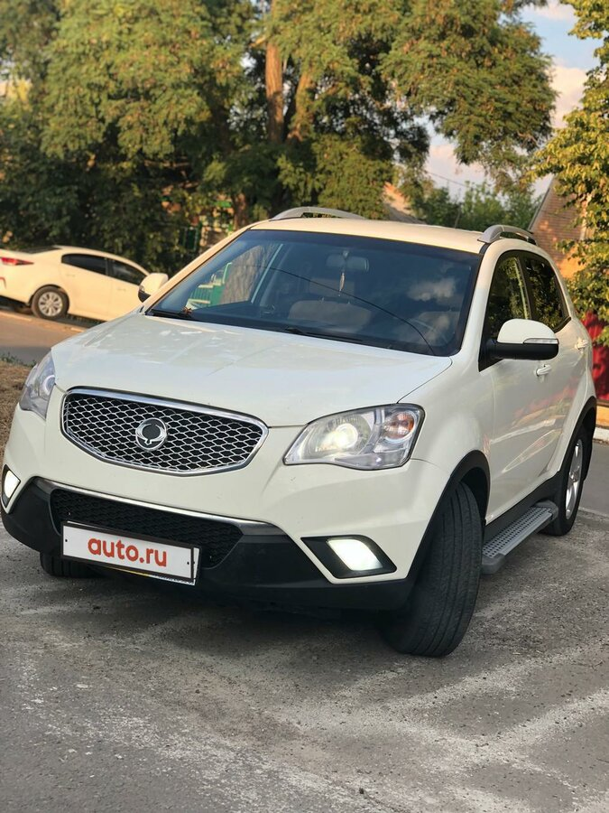2013 SsangYong Actyon  II, белый