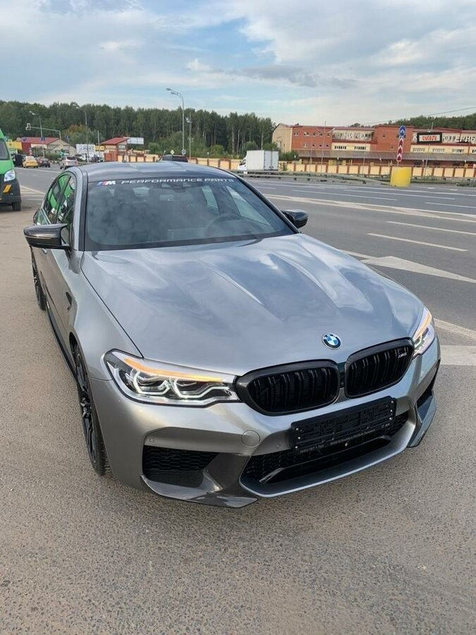 2019 BMW M5  VI (F90) Competition, серый - вид 1