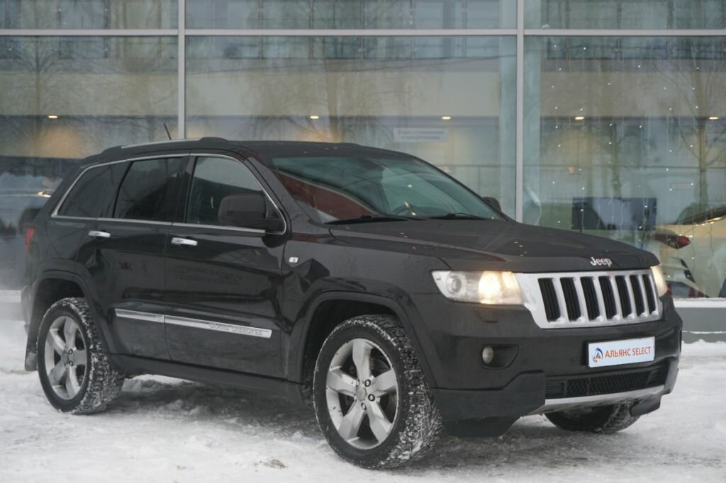2012 Jeep Grand Cherokee IV (WK2), чёрный, 1045000 рублей
