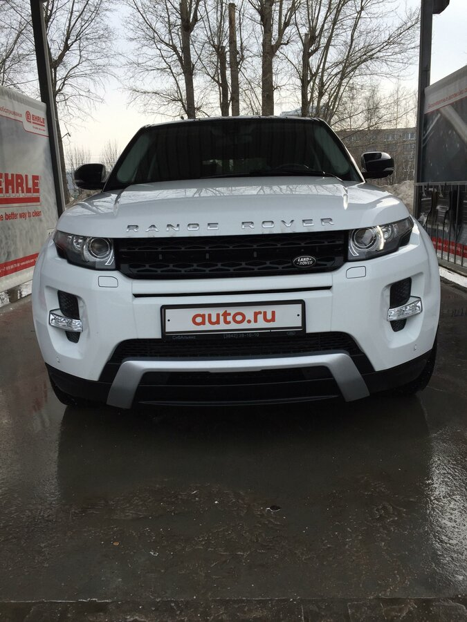 2013 Land Rover Range Rover Evoque  I 9-speed, белый, 1949000 рублей - вид 3