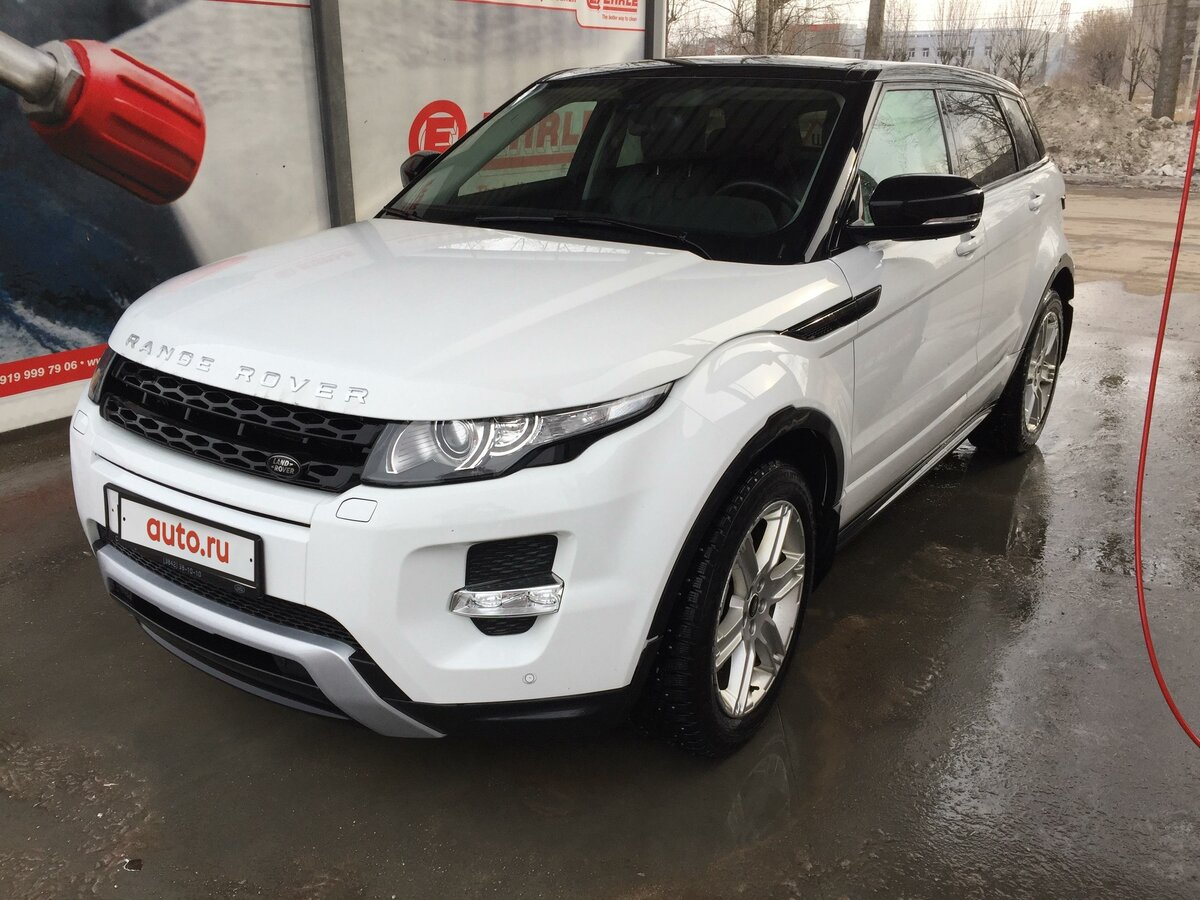 2013 Land Rover Range Rover Evoque  I 9-speed, белый, 1949000 рублей