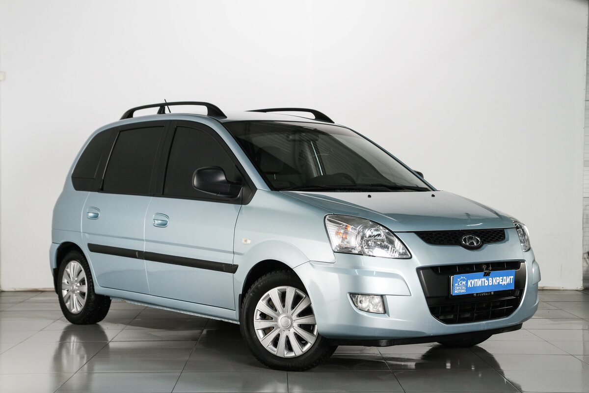 2008 Hyundai Matrix  I Рестайлинг, голубой