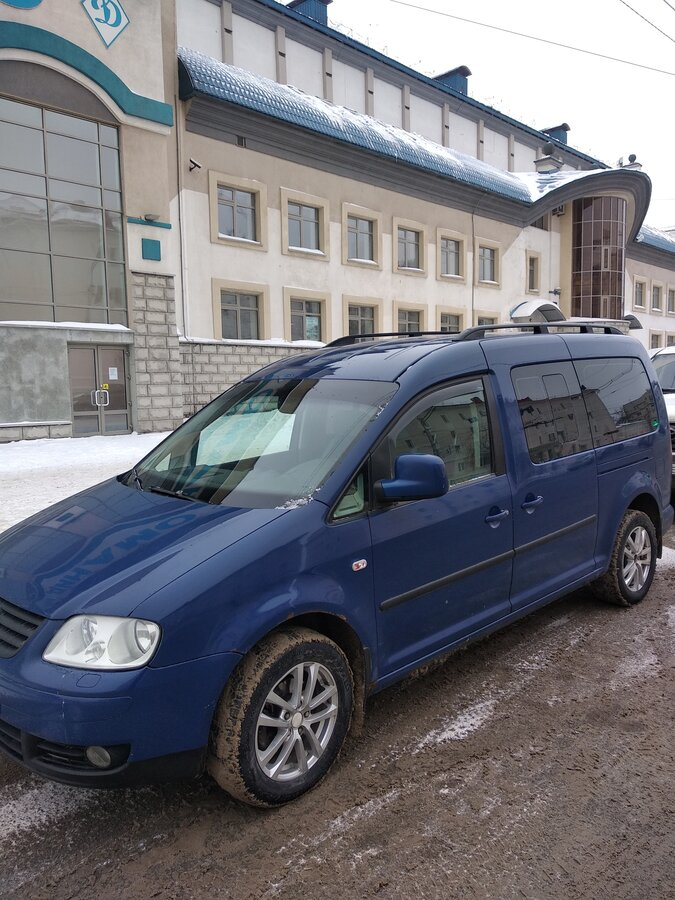 2009 Volkswagen Caddy  III, синий - вид 4