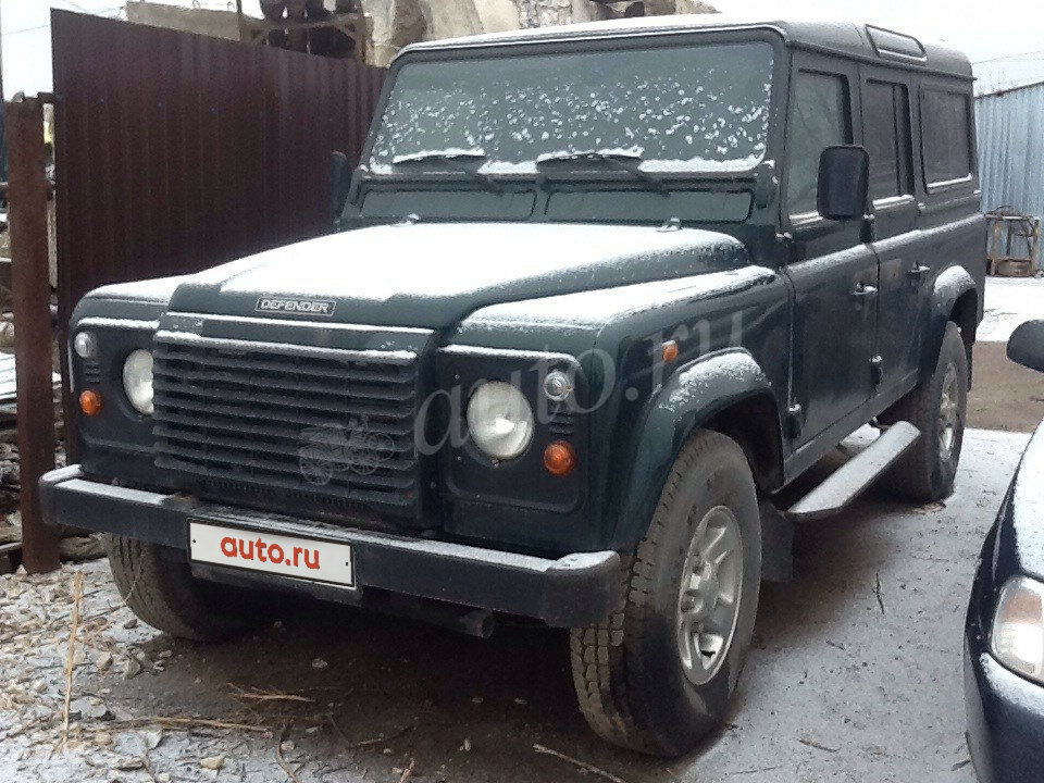 2002 Land Rover Defender  I 110, зелёный
