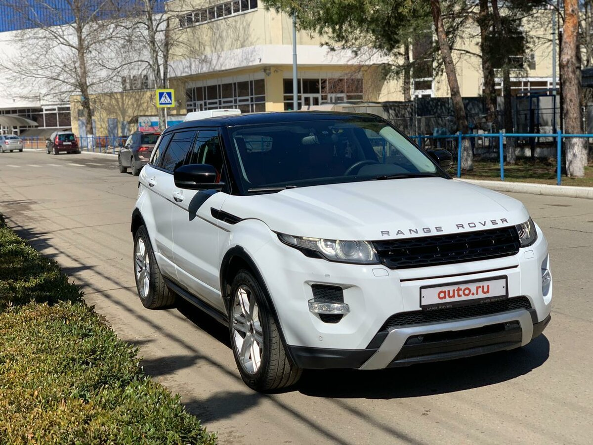 2012 Land Rover Range Rover Evoque  I 6-speed, белый, 1290000 рублей - вид 4