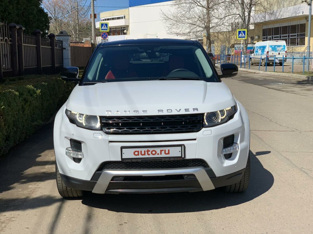 2012 Land Rover Range Rover Evoque  I 6-speed, белый, 1290000 рублей - вид 5
