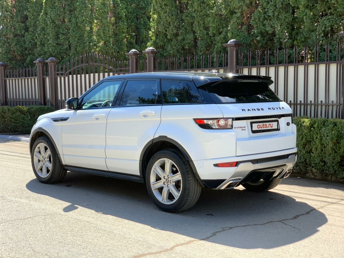 2012 Land Rover Range Rover Evoque  I 6-speed, белый, 1290000 рублей - вид 2