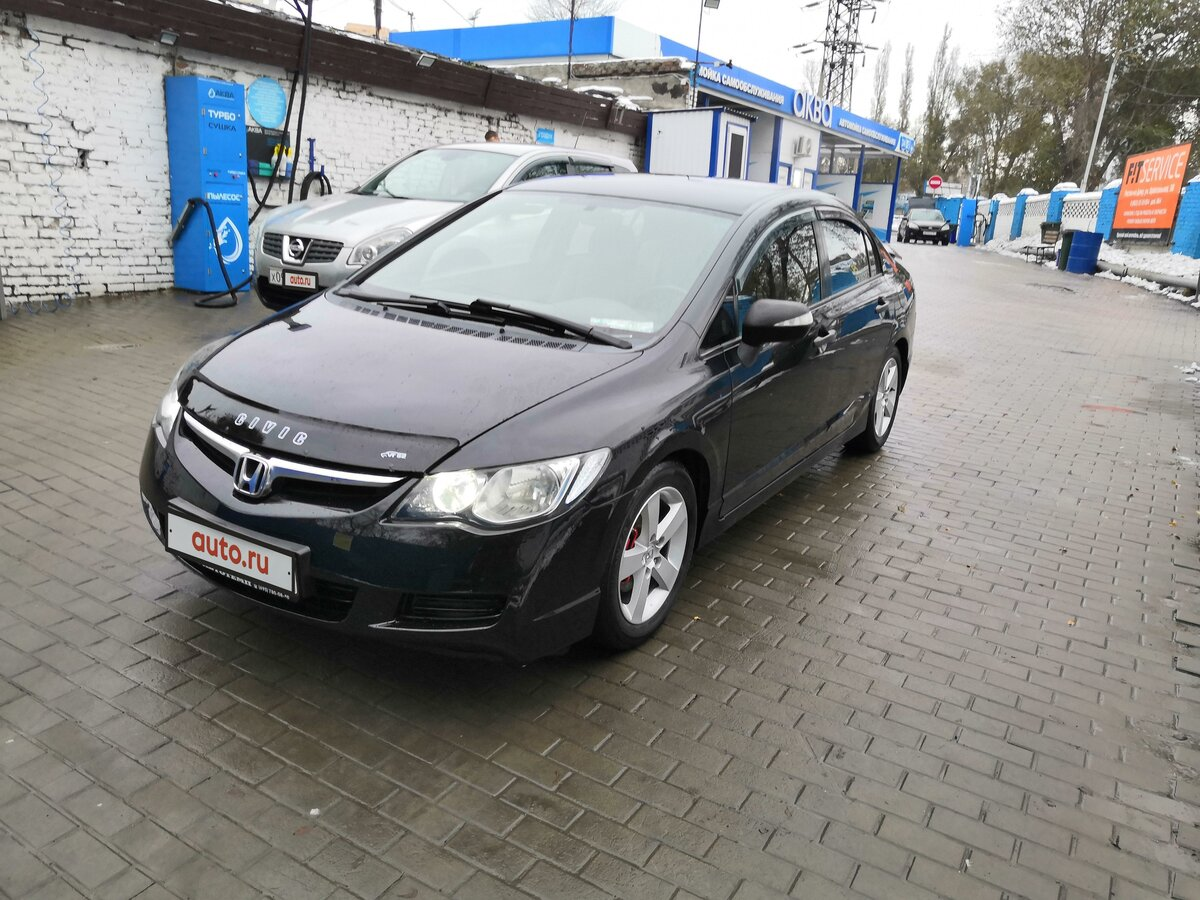 2006 Honda Civic  VIII, чёрный