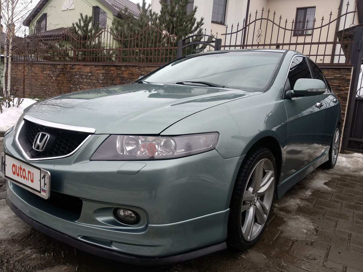 2004 Honda Accord  VII, зелёный