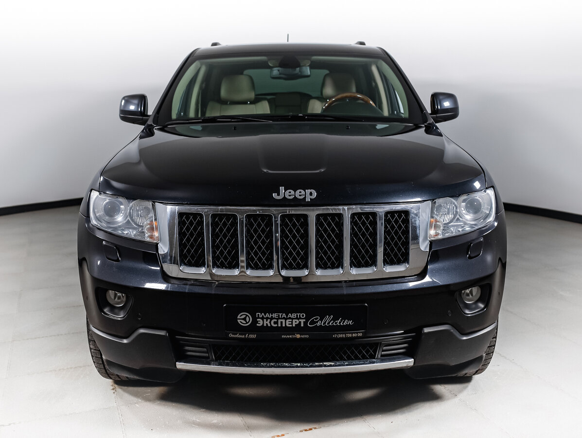 2012 Jeep Grand Cherokee  IV (WK2), серый - вид 6