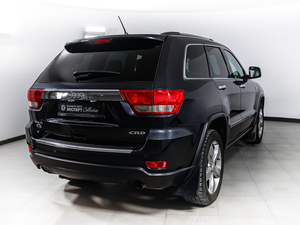2012 Jeep Grand Cherokee  IV (WK2), серый - вид 2