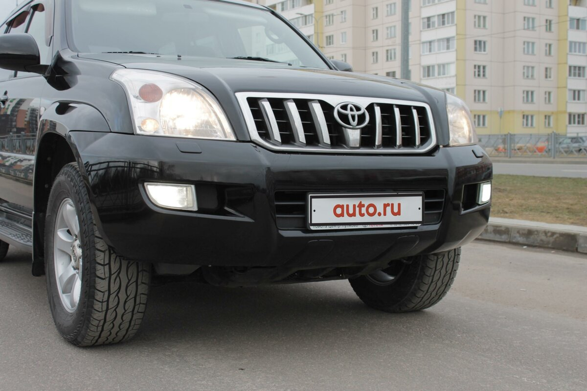 2005 Toyota Land Cruiser Prado  120 Series 5-speed, чёрный - вид 8