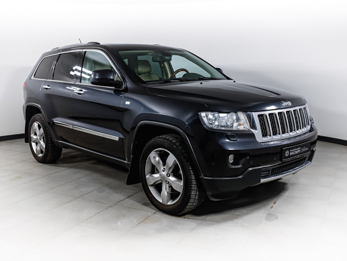 2012 Jeep Grand Cherokee  IV (WK2), серый