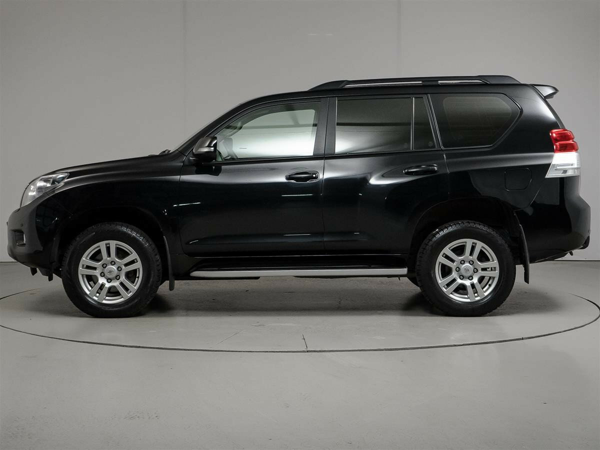 2012 Toyota Land Cruiser Prado  150 Series, чёрный - вид 7