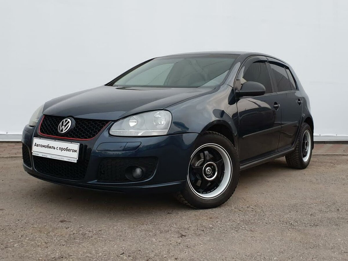 2006 Volkswagen Golf  V, синий