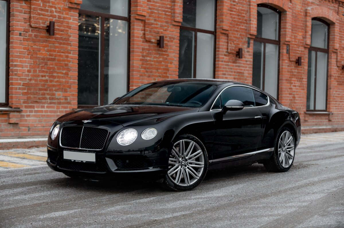 2013 Bentley Continental GT II, чёрный, 4800000 рублей