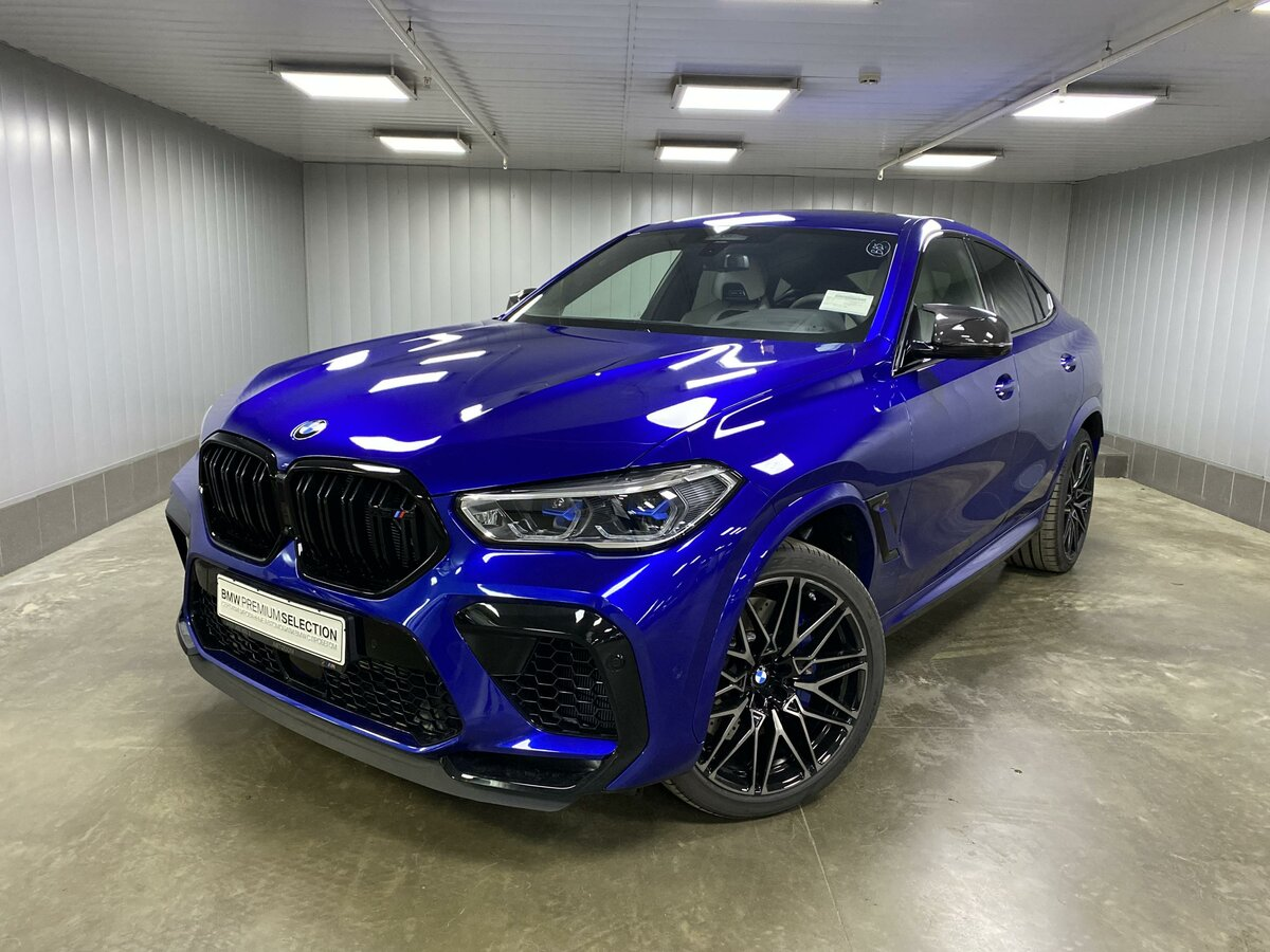 2020 BMW X6 M  III (F96) Competition, синий, 12149700 рублей