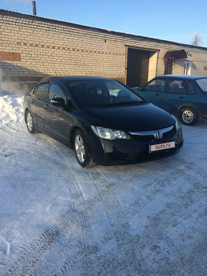 2008 Honda Civic  VIII, чёрный