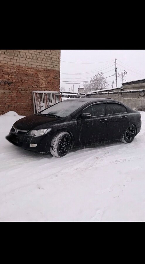 2008 Honda Civic  VIII, синий - вид 2
