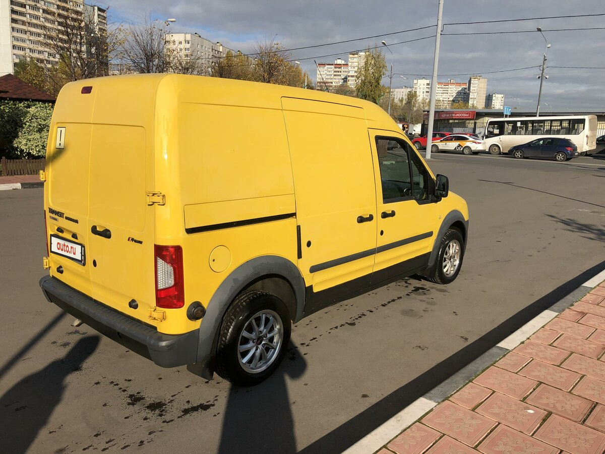 2010 Ford Transit Connect, жёлтый - вид 6
