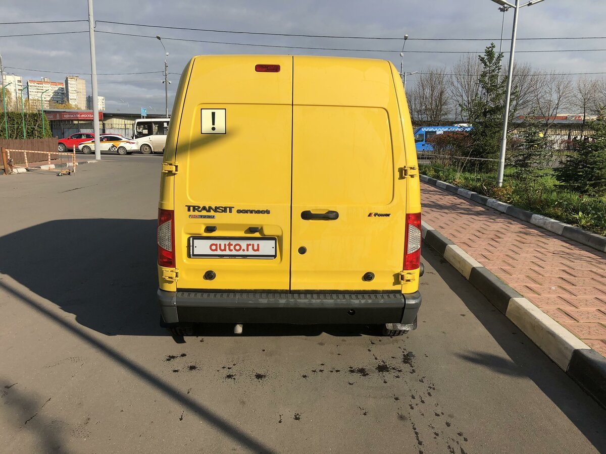 2010 Ford Transit Connect, жёлтый - вид 7