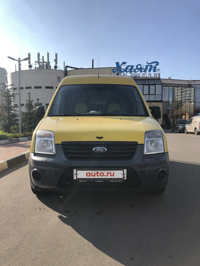 2010 Ford Transit Connect, жёлтый - вид 4