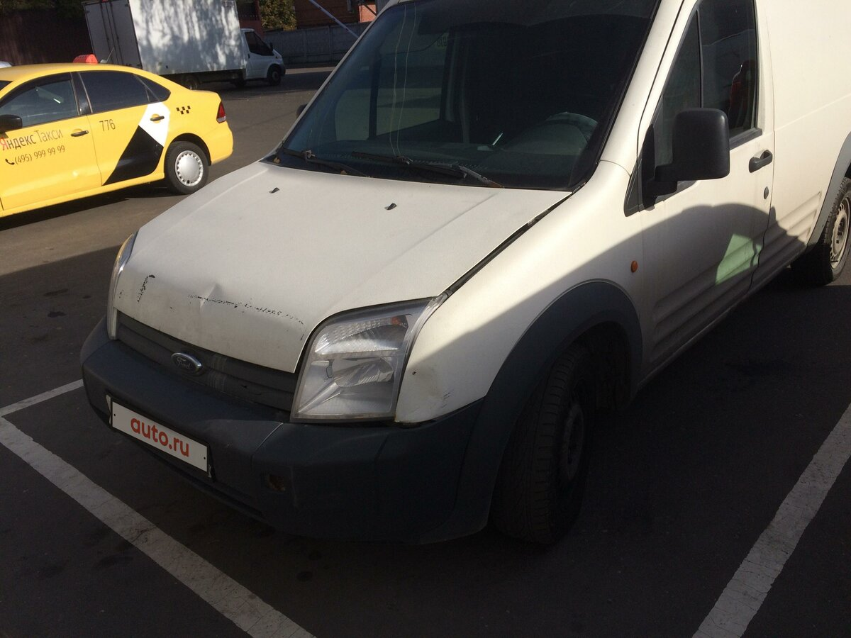 2008 Ford Transit Connect, белый
