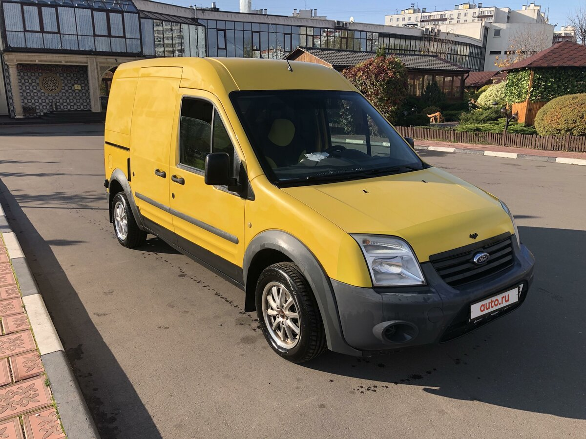 2010 Ford Transit Connect, жёлтый - вид 2