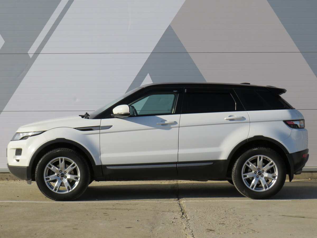 2012 Land Rover Range Rover Evoque  I 6-speed, белый - вид 7