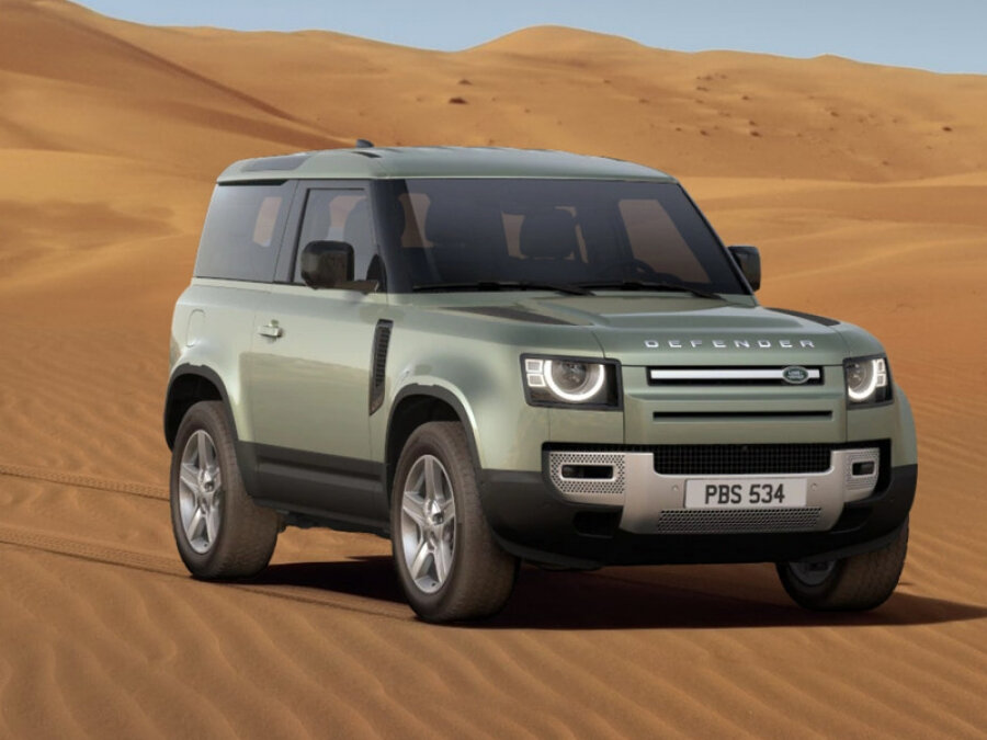 2021 Land Rover Defender  II 90, зелёный